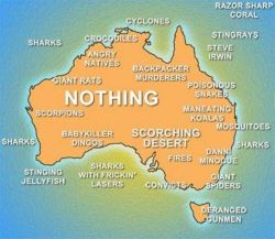 life_in_australia_is_dangerous_map