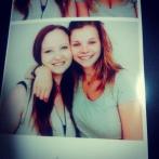 Melena und ich